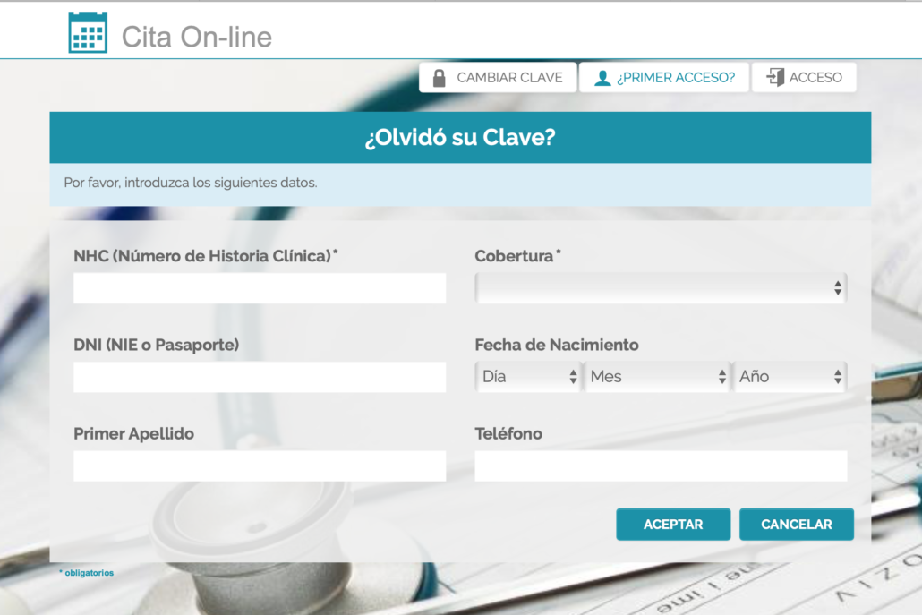 Cita Online Centro Médico Averroes